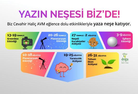 YAZIN NEŞESİ BİZ'DE