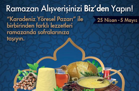 Ramazan Alışverişlerinizi Biz'den Yapın!