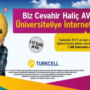 Üniversiteliye İnternet Hediye!